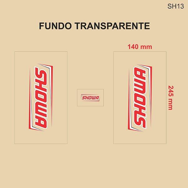 Adesivo de Suspensão Showa - SH13