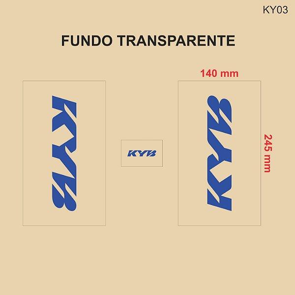 Adesivo de Suspensão KYB - KY03