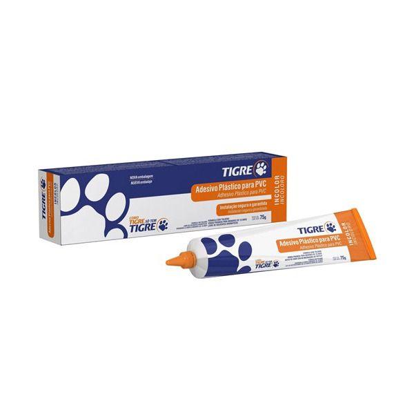 53001025 ADESIVO PVC INCOLOR BISNAGA 75G TIGRE