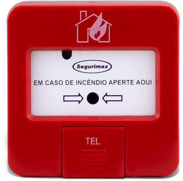 ACIONADOR MANUAL ENDEREÇAVEL SEGURIMAX 27109