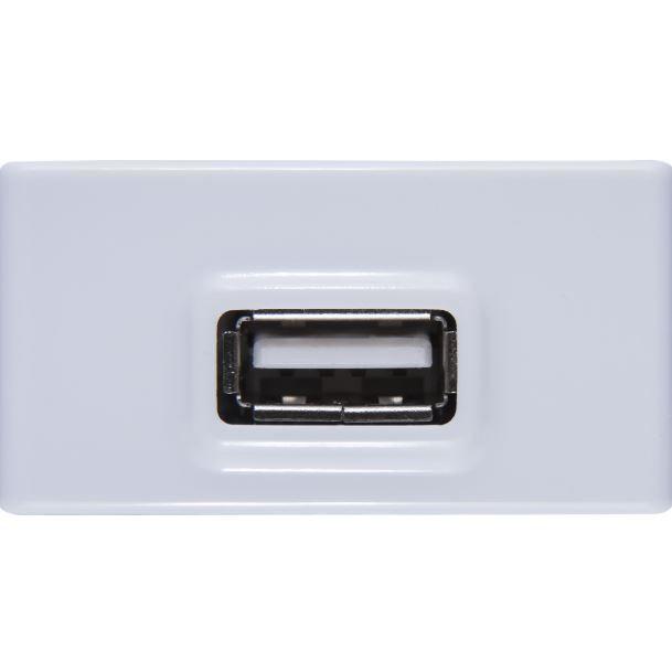 MODULO PARA TOMADA USB BIVOLT 1,5A BRANCO LIZ  TRAMONTINA 57115041