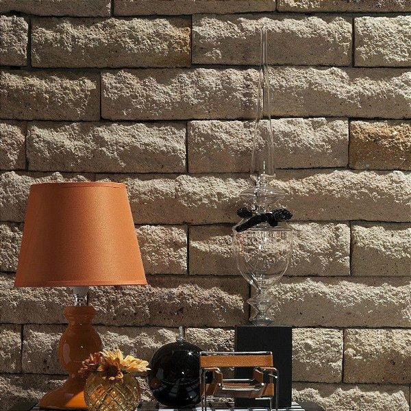 Tijolo Rockface California Cx.  com 0,5m²