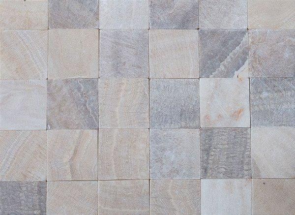 Pedra Onix 10X10 Cx. Com 1m²