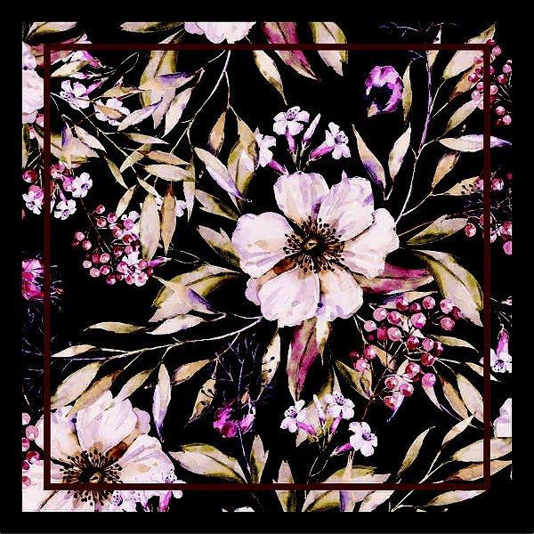 Lenço Estampa Floral