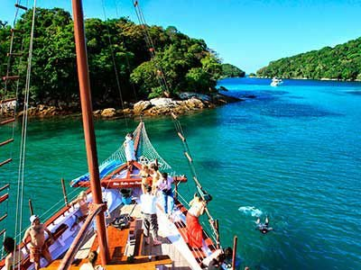 Angra dos Reis - Com Escuna| Day Use