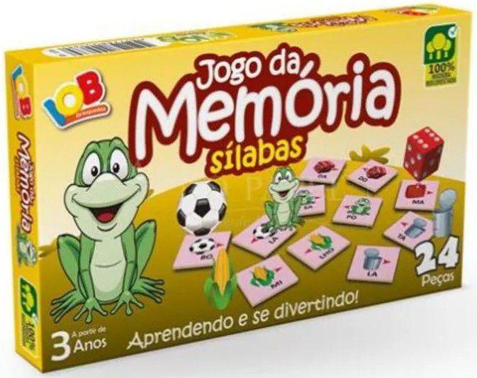 JOGO DA MEMÓRIA SÍLABAS