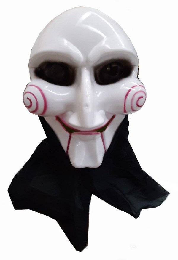Máscara com Capuz Jogos Mortais