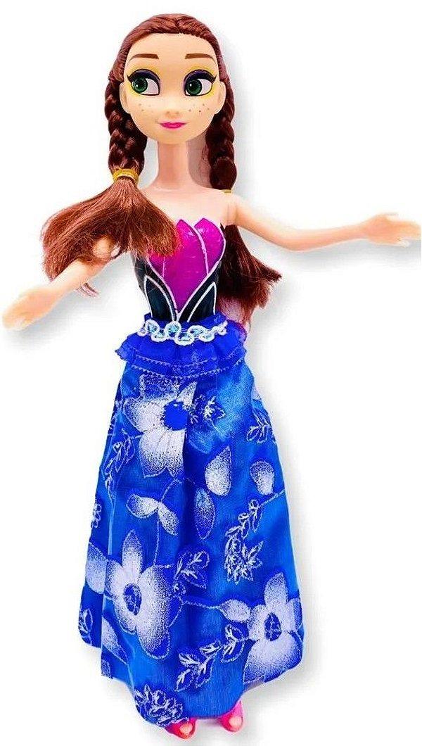 Boneca Princesa Lovely Tipo Frozen Ana