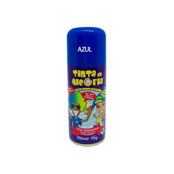Tinta Spray Para Cabelo - Tinta Da Alegria (unidade)