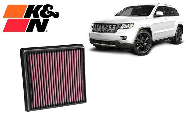 Filtro K&N Jeep Grand Cherokee V6 11+