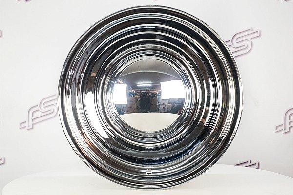 Roda Smoothie de Aço Cromada Aro 15 / Tala 8 / Furação 5x114,3/120