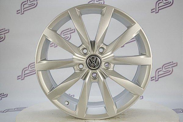 Jogo De Rodas VW Golf TSI Original Prata 5x112 - 17x7