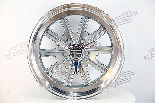 Roda Shelby Grey Aro 17 / 5x114,3 TALA 9 E TALA 10,5 (KIT COM 4 RODAS)