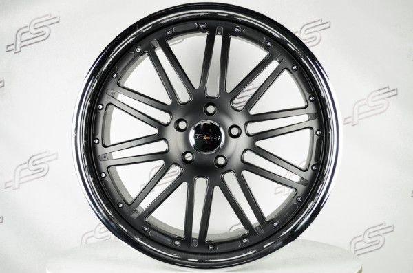 Roda GFG Laguna Preta Fosca Aro 20 / 5x120  (Kit com 4 rodas)