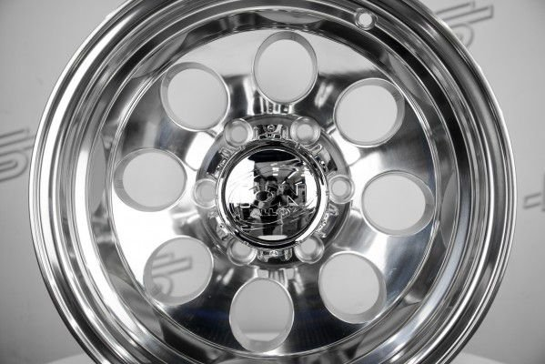 Roda Ion Modelo 171 Polida Aro 15 5x139.7 ( Kit com 4 Rodas)