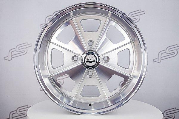 Roda 914 Aro 17 Prata Diamantada / 4 Furos (4x130)