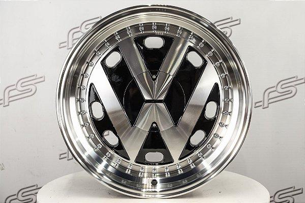 Roda VW Black Diamantada Aro 17 / 4 e 5 Furos