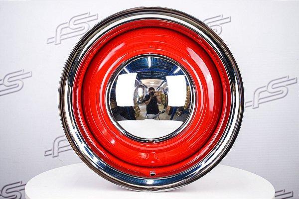 Jogo de rodas Smoothie Vermelha Aro 15 / Talas 6 e 7 / Furação 5x114,3/120