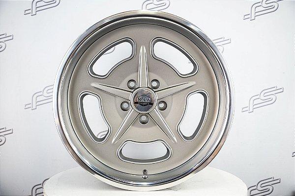 Roda Salt Flat Grey Aro 18 / Tala 8 / Furação 5x114,3