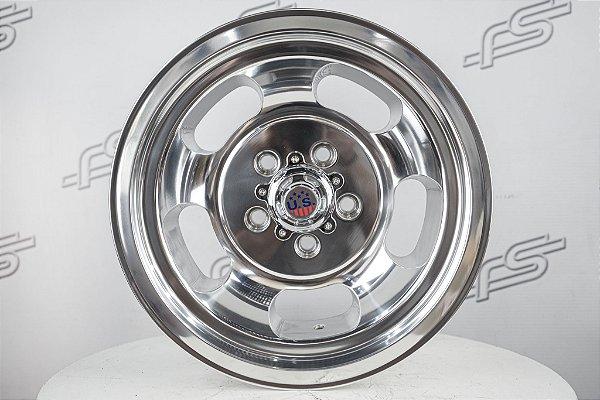 Roda U.S Mag Indy Polish 15x7 / 15X9 - 5x114,3 (KIT COM 4 RODAS)