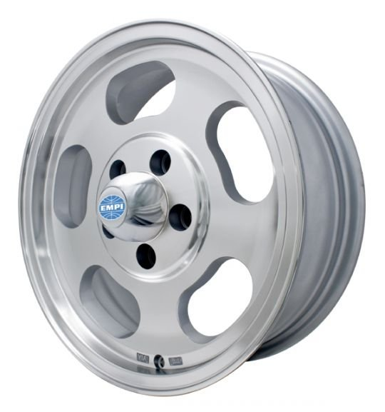 Roda Empi Dish Prata Diamanta  15 / 5 furos (5x112)