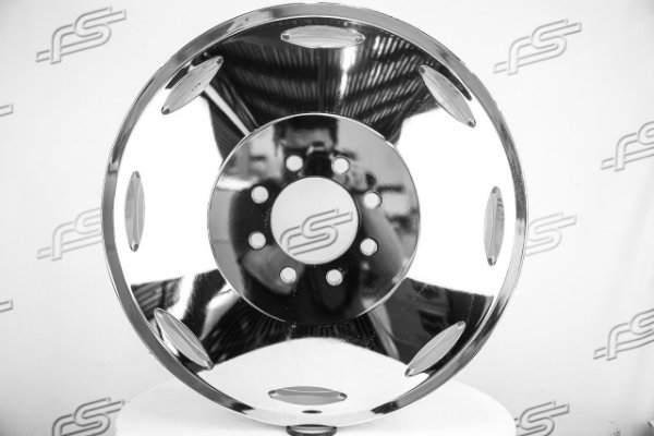 RODA CALI BRUTAL CHROME ARO 22 / 8 FUROS INNER (Off-set +115)