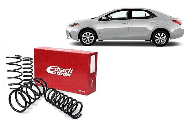 Pro-Kit Molas Esportivas Eibach Toyota Corolla 1.8 e 2.0 (2014 a 2019)