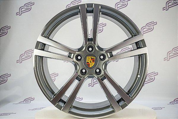 Jogo De Rodas Porsche Cayenne Turbo 2011 5x130 - 22x10