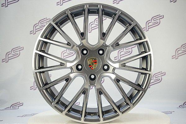 Jogo de Rodas Porsche Cayman Turbo P/Carrera 5x130 - 20x9 E 20x10,5