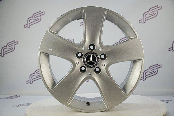 Jogo De Rodas Mercedes CLA Original Prata 5x112 - 17x7,5