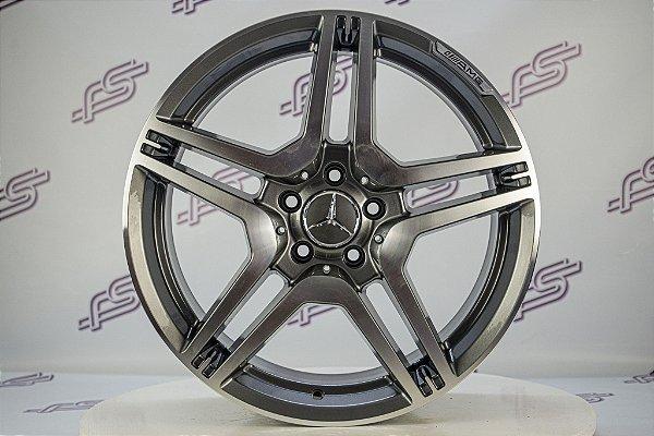 Jogo De Rodas Mercedes CLS Grafite Diamantada 5x112 -19x8,5