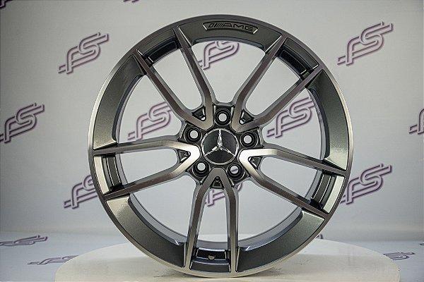 Jogo De Rodas Mercedes CLS-53 2020 Grafite Diamantado 5x112-18x8