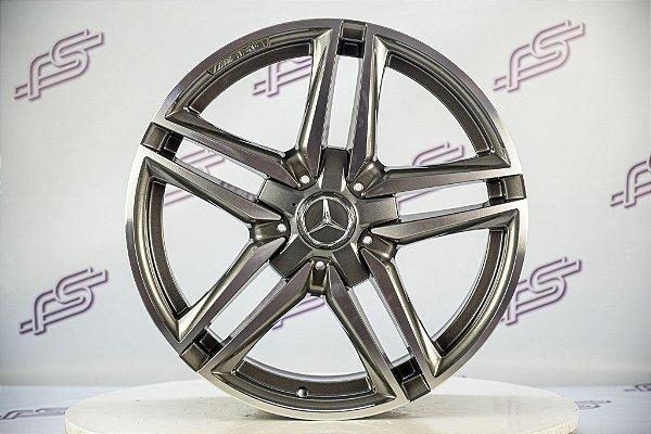 Jogo De Rodas Mercedes E-63 2020 Grafite Diamantada 5x112 - 19x8,5