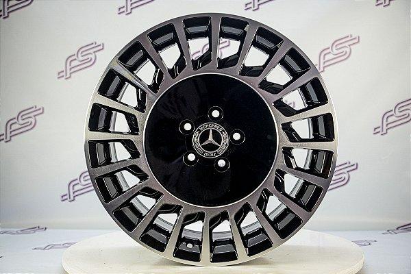 Jogo De Rodas Mercedes Maybach Preto 5x112 - 19x8,5 E 19x9,5