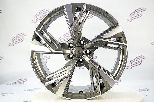 Jogo De Rodas Audi Rs6 2020 Grafite Diamantado 5x112 - 20x9