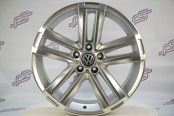Jogo De Rodas VW Amarok 2015 Prata 5x120 - 20x8,5