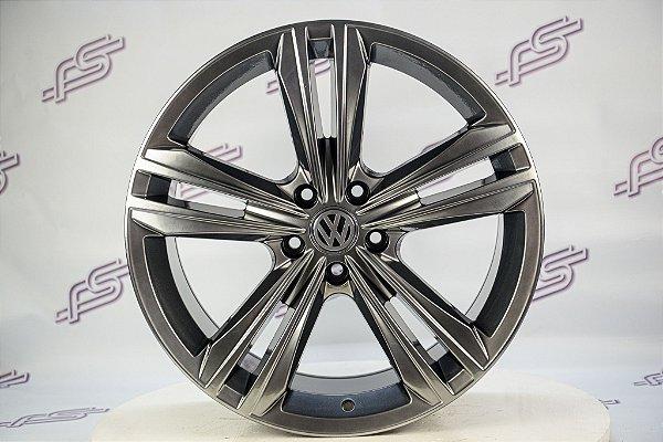 Jogo De Rodas VW Tiguan R-line Cromo Look 5x112 - 19x8,5