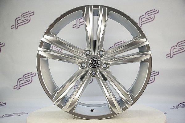 Jogo De Rodas VW Tiguan R-Line Hiper Prata 5x112 - 20x7,5