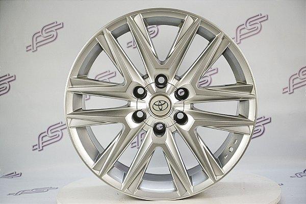 Jogo De Rodas Toyota Hilux Prata 6x139,7 - 20x8,5