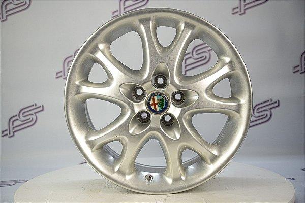Jogo De Rodas Alfa Romeo 147 Prata 5x98 - 16x6,5