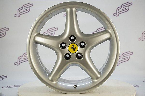 Jogo De Rodas Ferrari 575 Original Prata 5x108 - 18x8,5 E 18x10,5