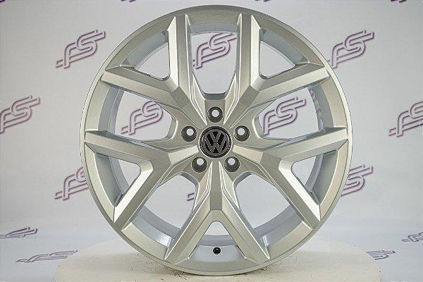 Jogo De Rodas VW Amarok V6 Prata 5x113 - 20x7,5