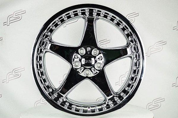Jogo de rodas Foose modelo 500 aro 20 / tala 8,5 / furação 5x114,3
