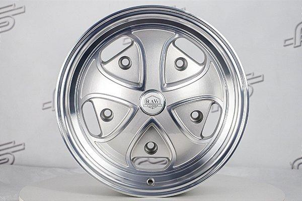 Roda RDW Prata Diamantada Aro 15 / 5 Furos (5x205)