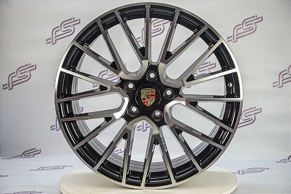 Jogo De Rodas Porsche Cayman Turbo 5x130 - 21x9,5 E 21x11