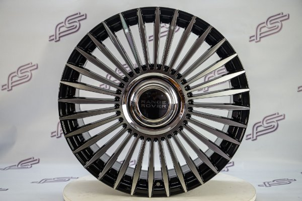 Jogo De Rodas Land Rover Evoque Preto Diamantado 5x108 - 20x8,5