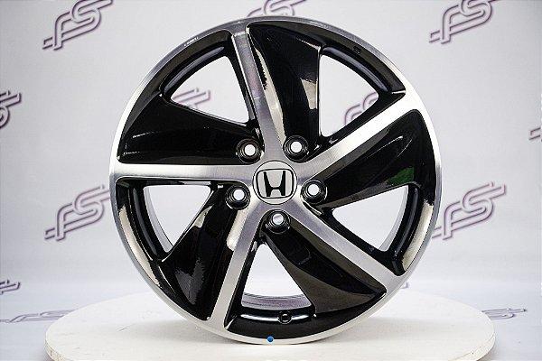 Jogo De Rodas Honda HRV 2020 Original Preto Diamantado 5x114,3 - 17x7