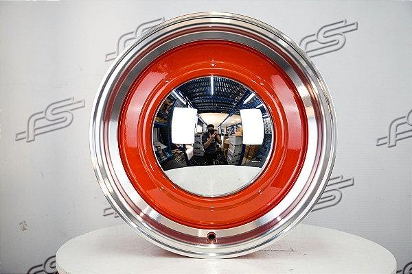 Roda Smoothie Vermelha Aro 15 / Tala 6 / Furação 5x139,7
