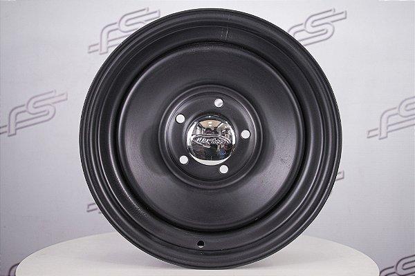 Roda U.S Wheels Aço Preto Fosco 15x5 5x120 (CE)