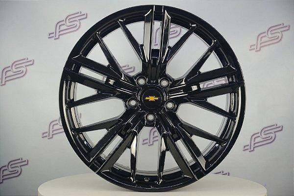 Jogo De Rodas Gm Camaro ZL1 2020 Preto Brilhante 5x120 - 20x9 e 20x10